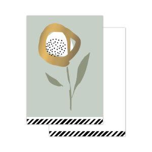 Minikaartjes Arts & Crafts Flowers sage | CollectivWarehouse