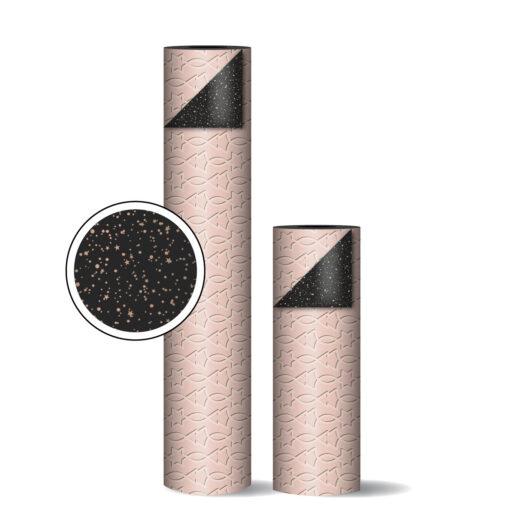 Toonbankrollen Trees & Stars roze/zwart | CollectivWarehouse