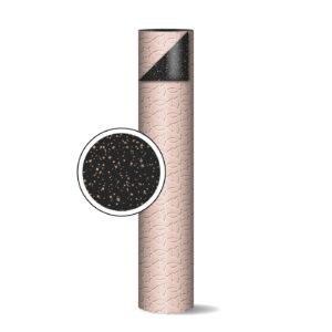Toonbankrol 50cm Trees & Stars roze/zwart | CollectivWarehouse