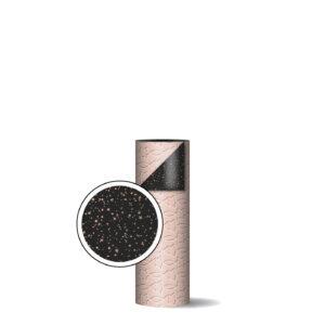 Toonbankrol 30cm Trees & Stars roze/zwart | CollectivWarehouse