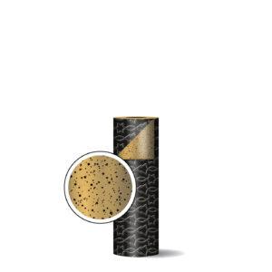 Toonbankrol 30cm Trees & Stars zwart/goud | CollectivWarehouse