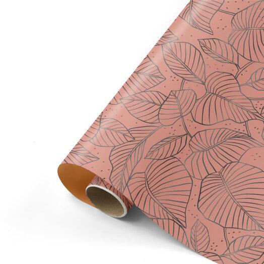 Cadeaupapier Lovely Leaves warm | CollectivWarehouse