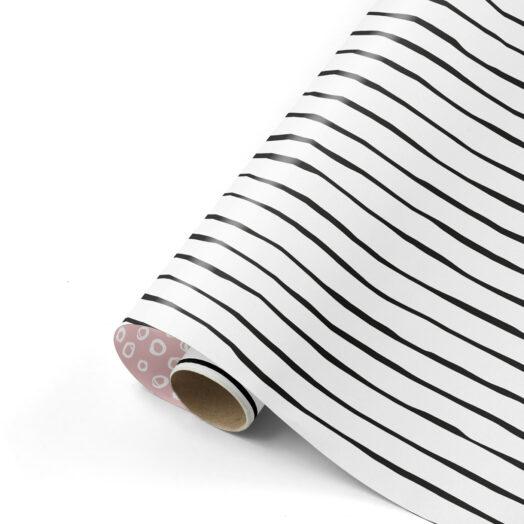 Cadeaupapier Line Art warm | CollectivWarehouse