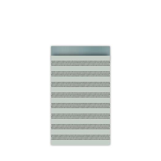Cadeauzakjes 12x19cm Raster Stripes cool | CollectivWarehouse
