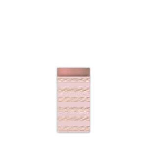 Cadeauzakjes 7x13cm Raster Stripes warm | CollectivWarehouse