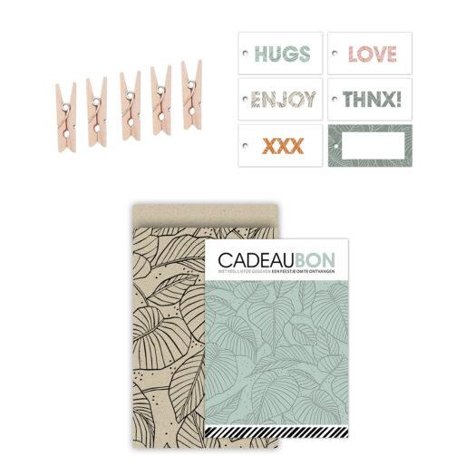 Cadeaubonnen pakket Lovely Leaves | CollectivWarehouse