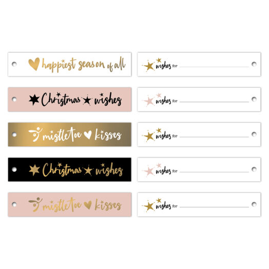Cadeaulabels Ribbon kerstwensen '21 | CollectivWarehouse