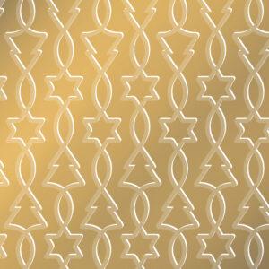 Zijdepapier Trees & Stars goud | CollectivWarehouse