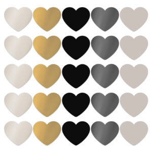 Cadeaustickers chique hearts | CollectivWarehouse